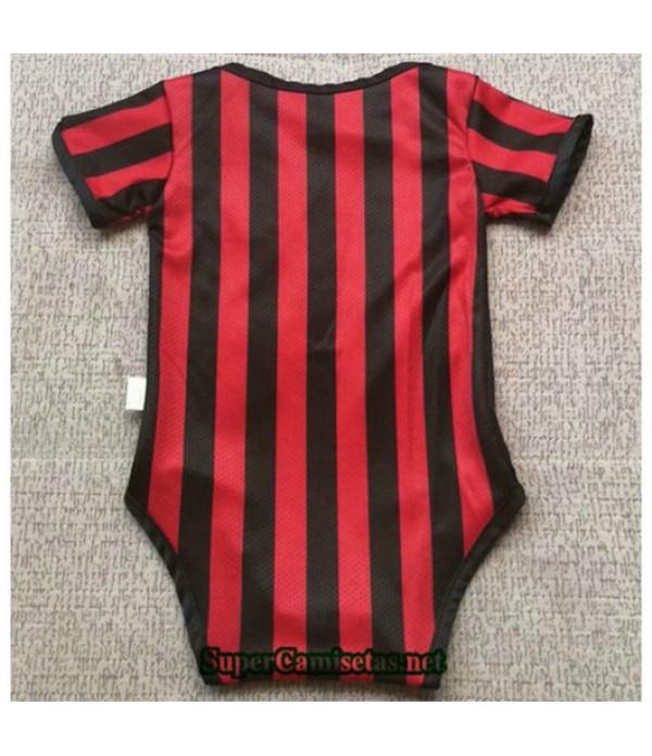 Primera Equipacion Camiseta AC Milan Bebé 2019/20