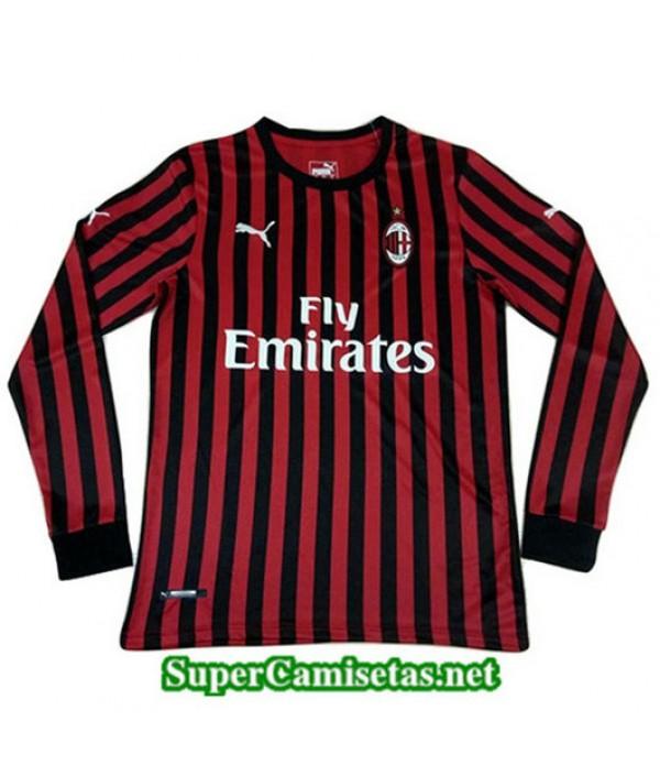 Primera Equipacion Camiseta AC Milan Manga Larga 2...