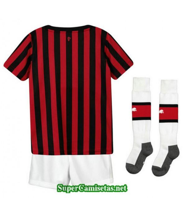 Primera Equipacion Camiseta AC Milan Ninos 2019/20