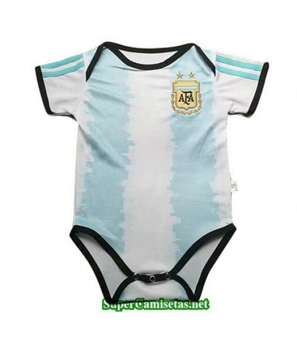 Primera Equipacion Camiseta Argentina Bebé 2019/2...