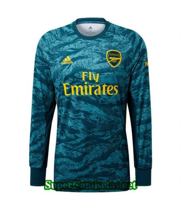 Primera Equipacion Camiseta Arsenal Portero Manga Larga 2019/20