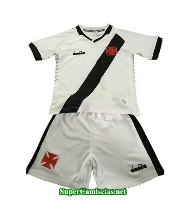 Primera Equipacion Camiseta CR Vasco da Gama Ninos Blanco 2019/20