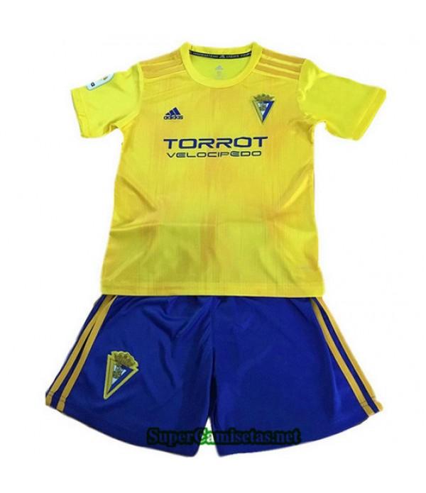 Primera Equipacion Camiseta Cadiz CF Ninos 2019/20