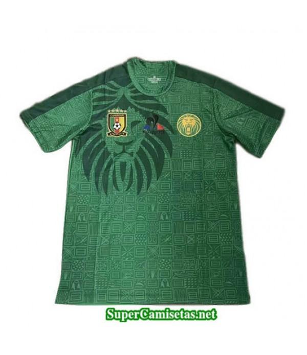 Primera Equipacion Camiseta Camerun Verde Negroatre 2019/20