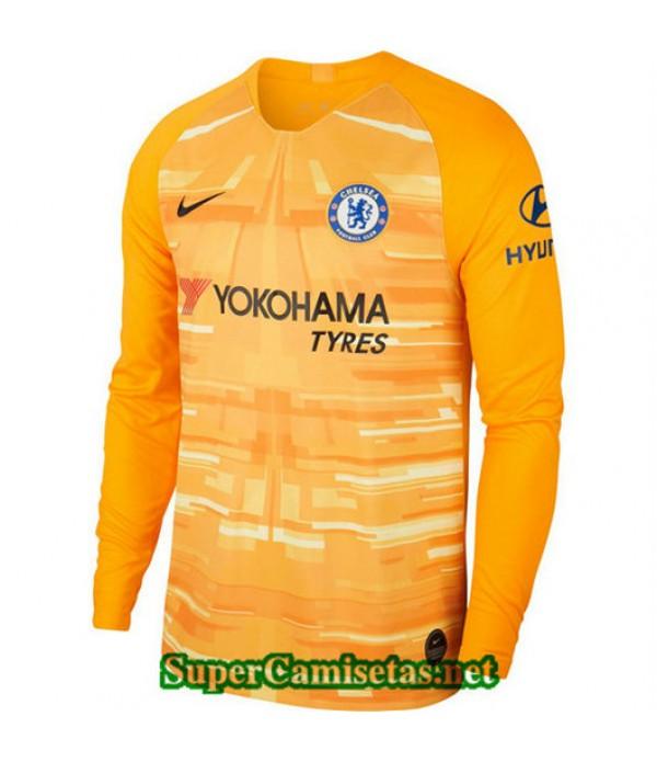 Primera Equipacion Camiseta Chelsea Portero Manga ...
