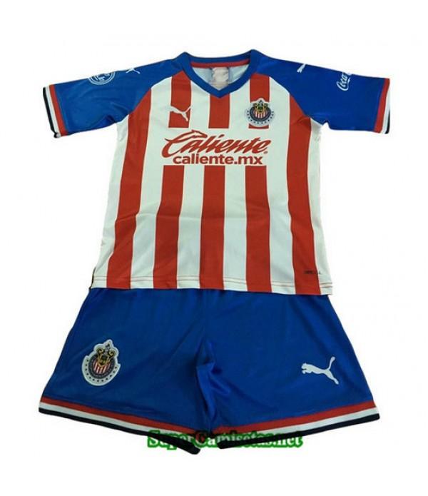 Primera Equipacion Camiseta Chivas de Guadalajara Ninos 2019/20