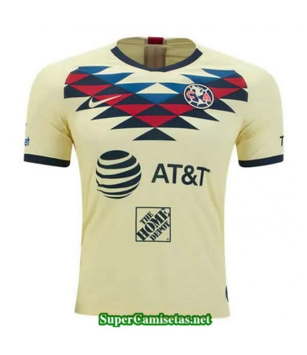 Primera Equipacion Camiseta Club America Amarillo 2019/20