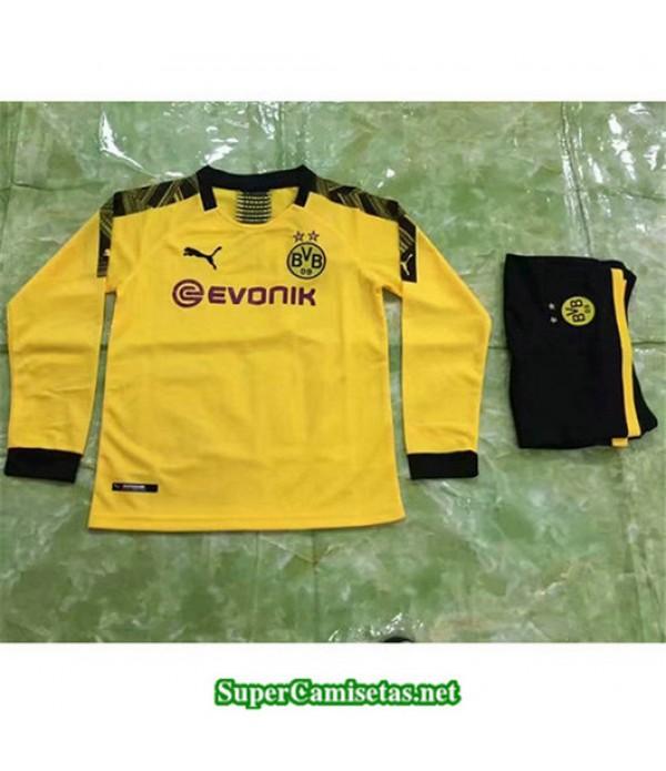 Primera Equipacion Camiseta Dortmund Ninos Manga L...