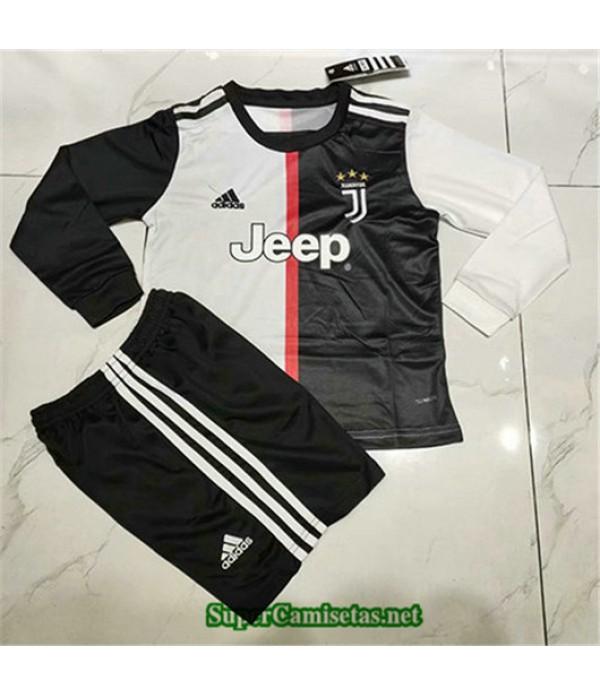 Primera Equipacion Camiseta Juventus Ninos Manga Larga 2019/20