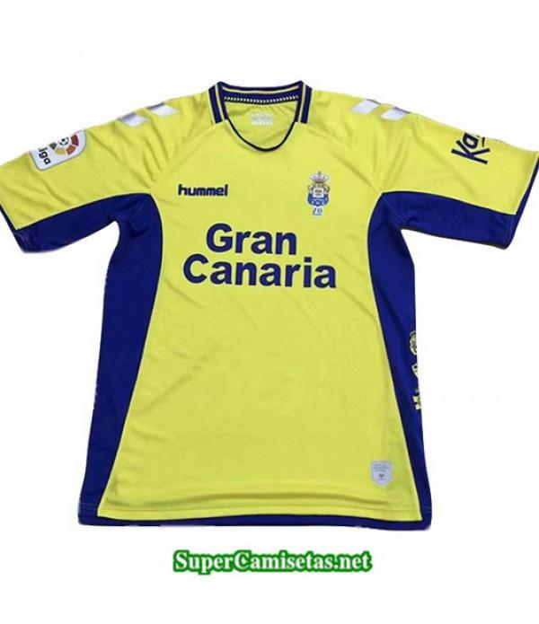 Primera Equipacion Camiseta Las Palmas Amarillo/Azul 2019/20