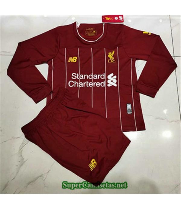 Primera Equipacion Camiseta Liverpool Ninos Manga ...