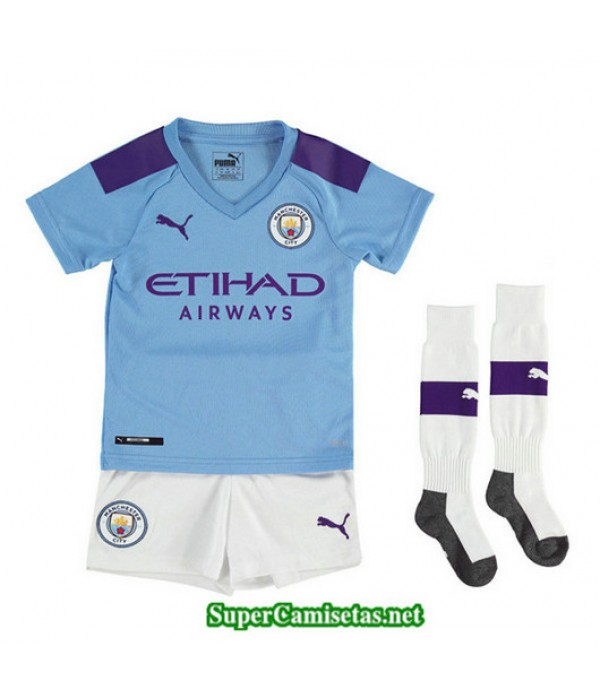 Primera Equipacion Camiseta Manchester City Ninos 2019/20