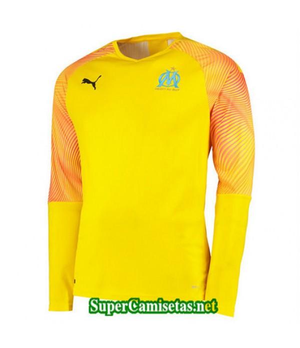 Primera Equipacion Camiseta Marsella Portero Amarillo 2019/20