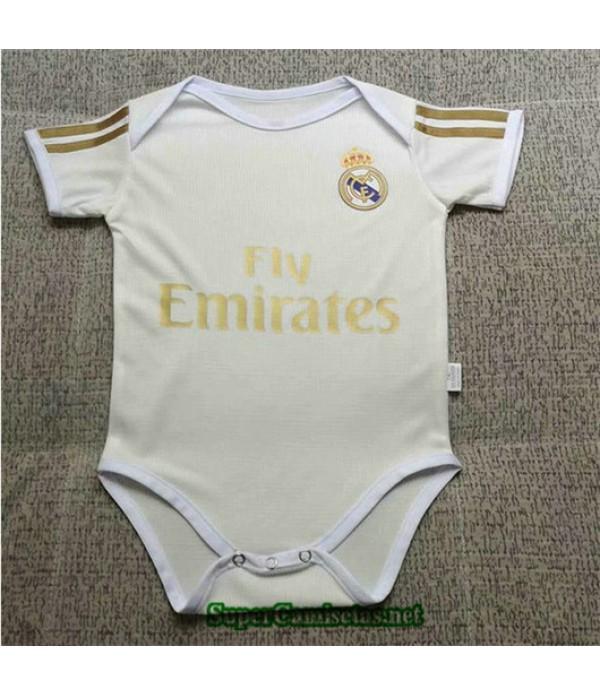Primera Equipacion Camiseta Real Madrid Bebé 2019...