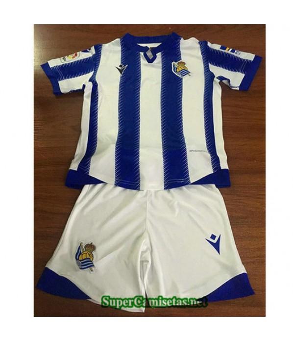 Primera Equipacion Camiseta Real Sociedad Ninos 2019/20