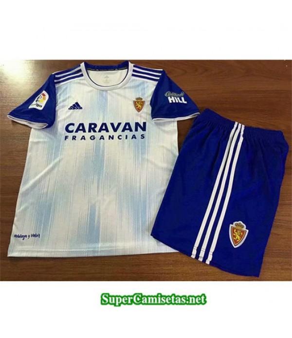 Primera Equipacion Camiseta Real Zaragoza Ninos 2019/20