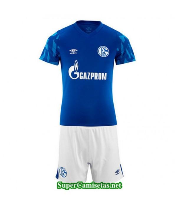 Primera Equipacion Camiseta Schalke 04 Ninos 2019/20