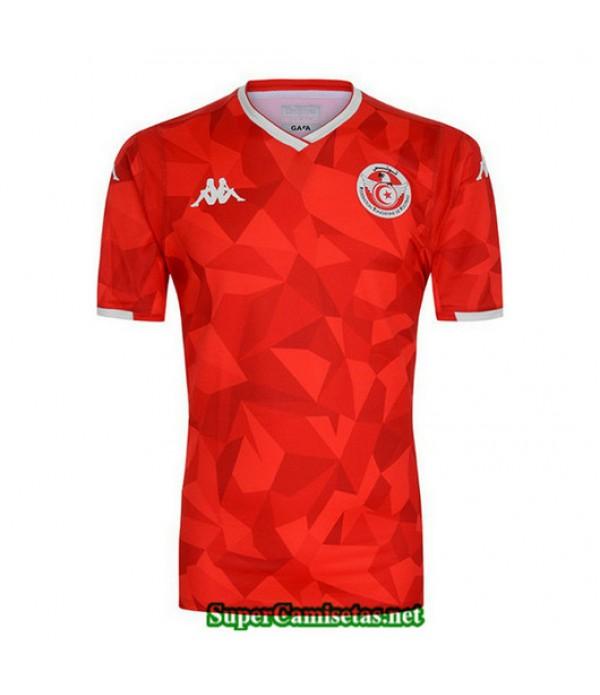 Primera Equipacion Camiseta Tunez Rojo 2019/20