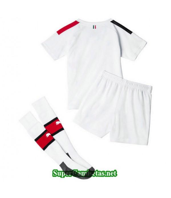 Segunda Equipacion Camiseta AC Milan Ninos 2019/20