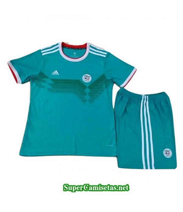 Segunda Equipacion Camiseta Argelia Ninos Azul 2019/20