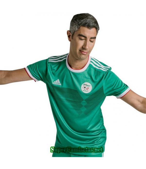 Segunda Equipacion Camiseta Argelia Verde 2019/20