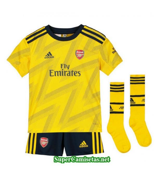 Segunda Equipacion Camiseta Arsenal Ninos 2019/20