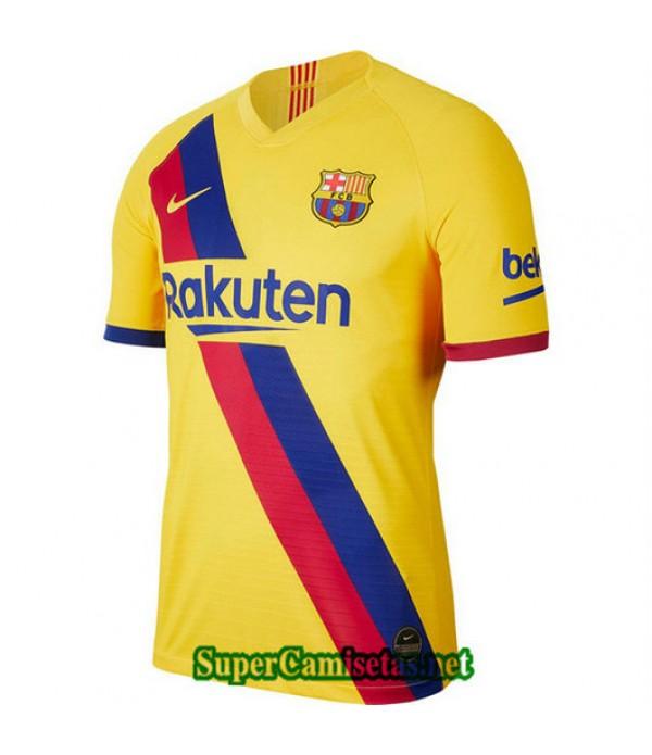 Segunda Equipacion Camiseta Barcelona Amarillo 2019/20