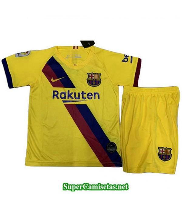 Segunda Equipacion Camiseta Barcelona Ninos 2019/20