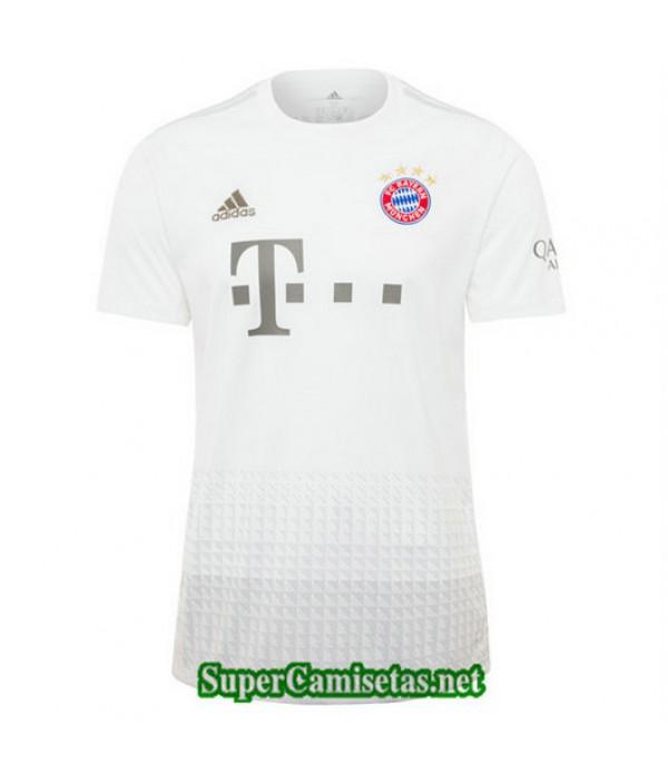 Segunda Equipacion Camiseta Bayern Munich Blanco 2019/20