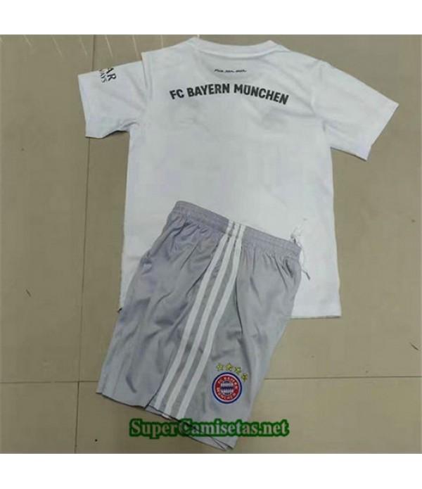 Segunda Equipacion Camiseta Bayern Munich Ninos 2019/20