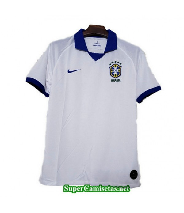 Segunda Equipacion Camiseta Bresil Blanco 2019/20