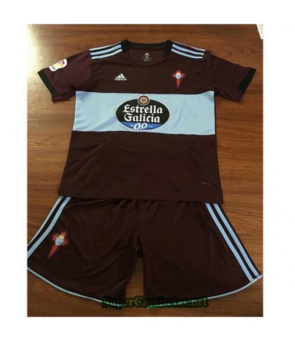 Segunda Equipacion Camiseta Celta de Vigo Ninos 2019/20