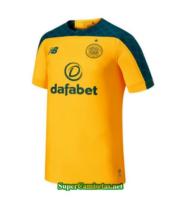 Segunda Equipacion Camiseta Celtic FC Amarillo 2019/20