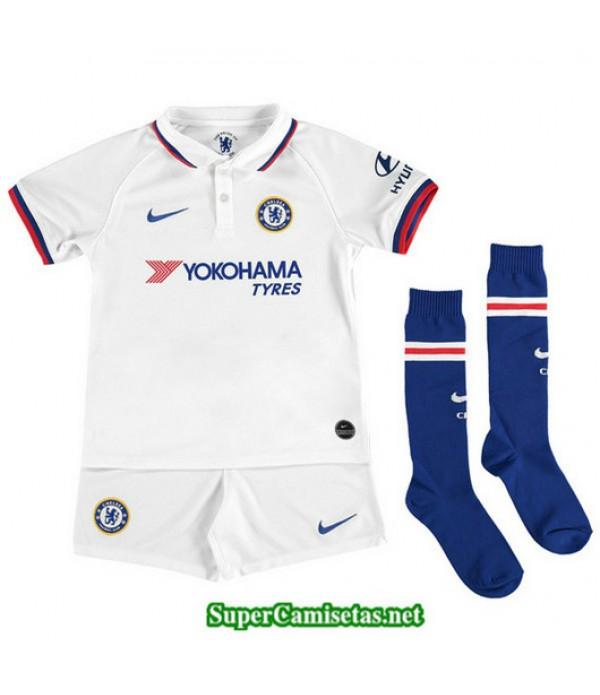 Segunda Equipacion Camiseta Chelsea Ninos Blanco 2...