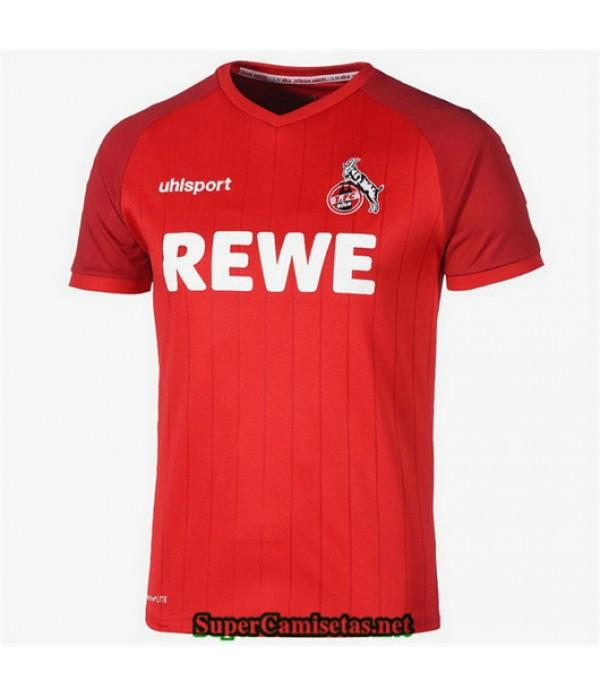 Segunda Equipacion Camiseta Colonia Rojo 2019/20