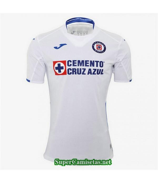 Segunda Equipacion Camiseta Cruz Azul Blanco 2019/20