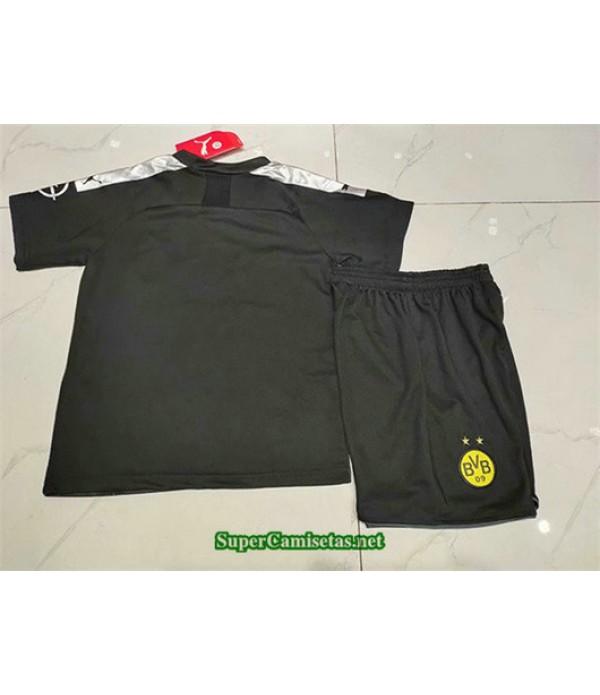Segunda Equipacion Camiseta Dortmund Ninos 2019/20