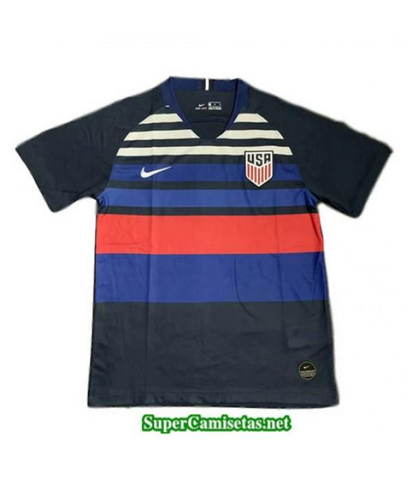 Segunda Equipacion Camiseta EEUU Azul 2019/20