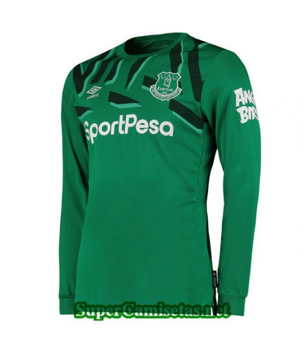 Segunda Equipacion Camiseta EVerdeon Portero Verde Manga Larga 2019/20