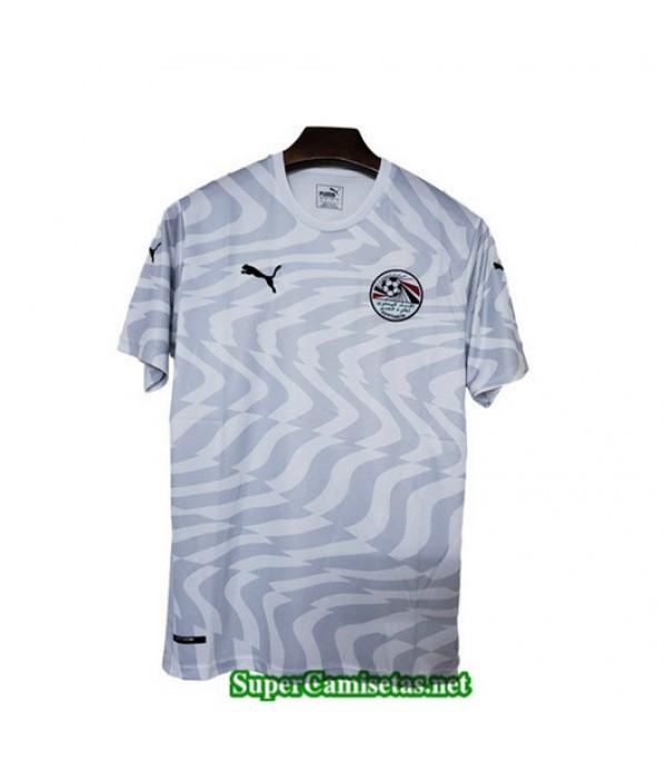 Segunda Equipacion Camiseta Egipto Blanco 2019/20