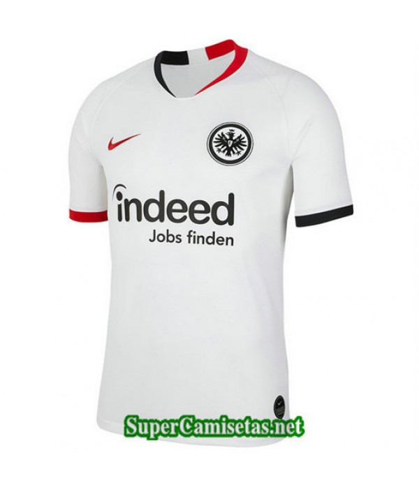 Segunda Equipacion Camiseta Eintracht Frankfurt Blanco 2019/20