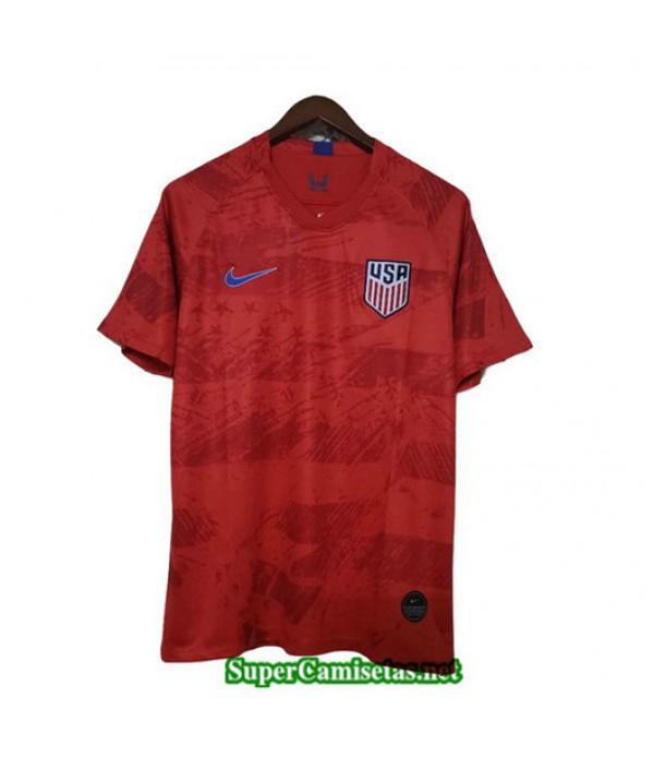 Segunda Equipacion Camiseta Etats Unis Rojo 2019/20
