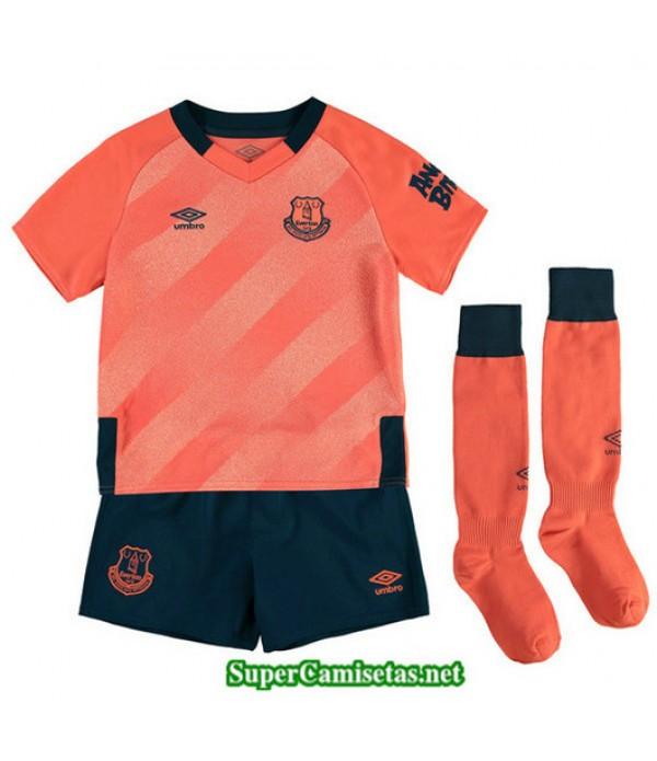 Segunda Equipacion Camiseta Everton Ninos 2019/20