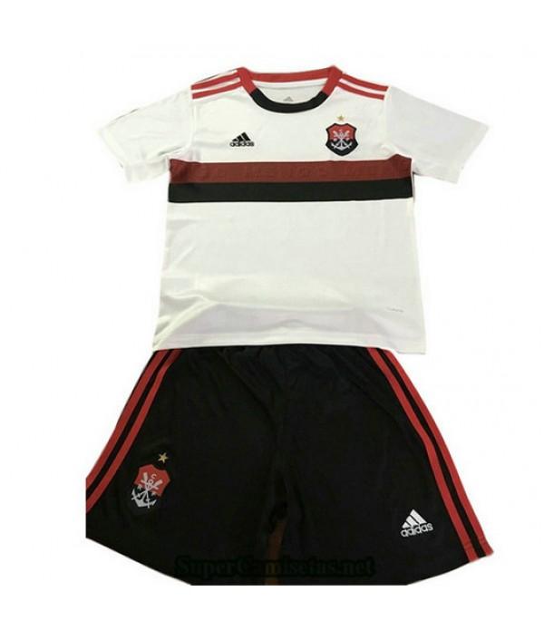 Segunda Equipacion Camiseta Flamengo Ninos 2019/20