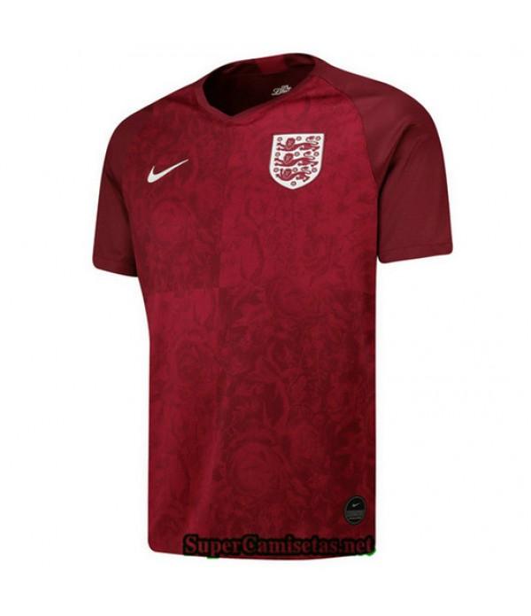 Segunda Equipacion Camiseta Inglaterra Rojo 2019/20