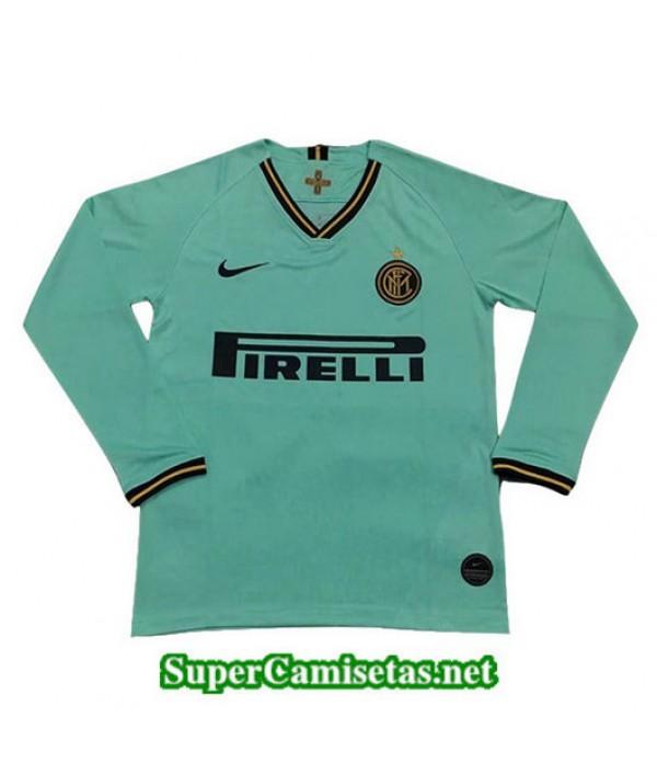 Segunda Equipacion Camiseta Inter Milan Manga Larga 2019/20