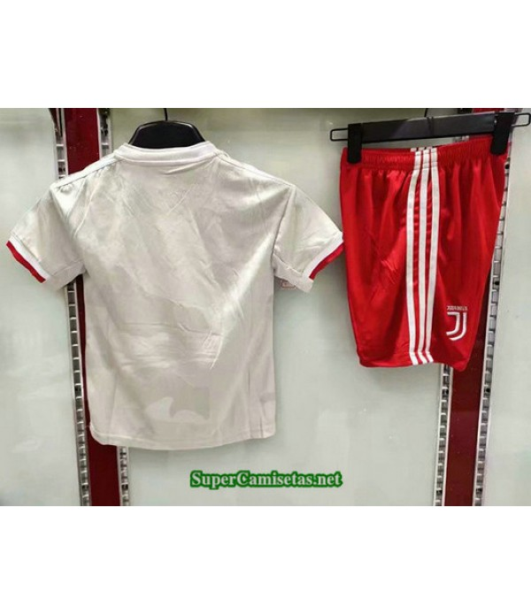 Segunda Equipacion Camiseta Juventus Ninos 2019/20