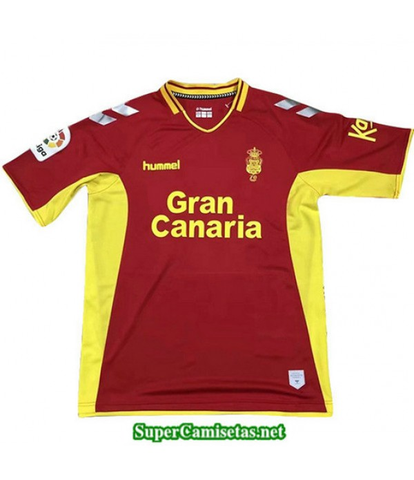 Segunda Equipacion Camiseta Las Palmas Rojo/Amarillo 2019/20