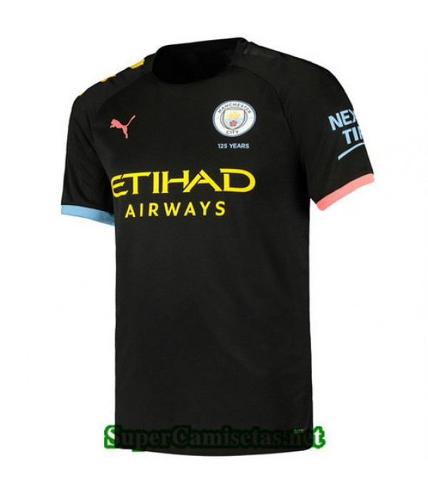 Segunda Equipacion Camiseta Manchester City 2019/20