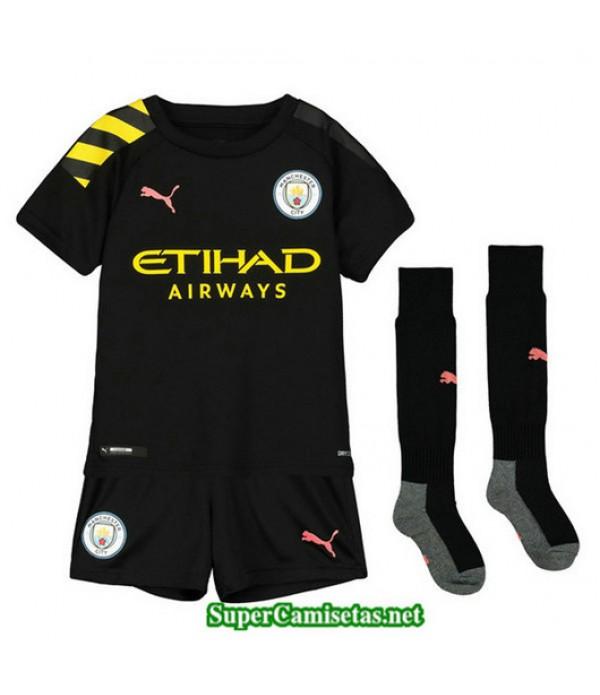 Segunda Equipacion Camiseta Manchester City Ninos 2019/20